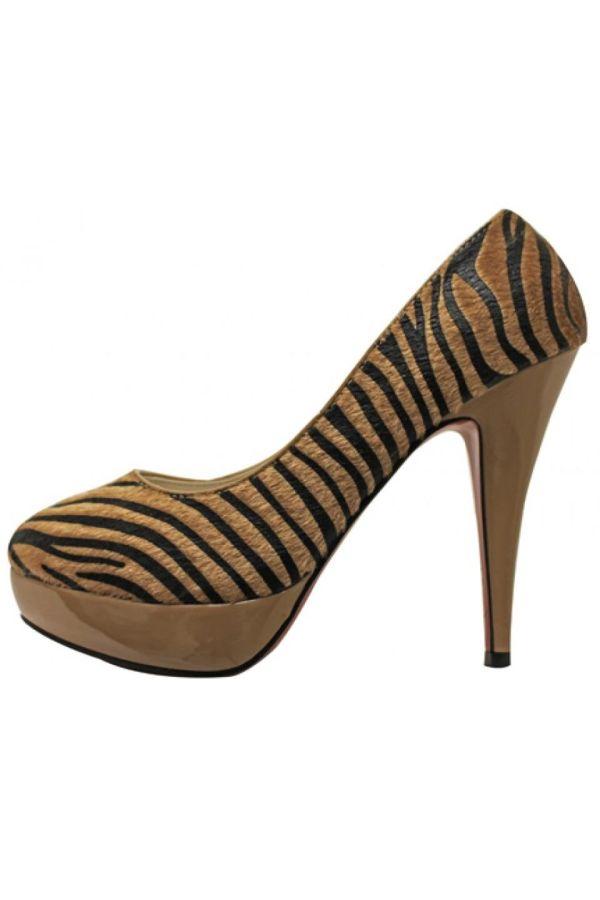 zevra design suede pump camel black