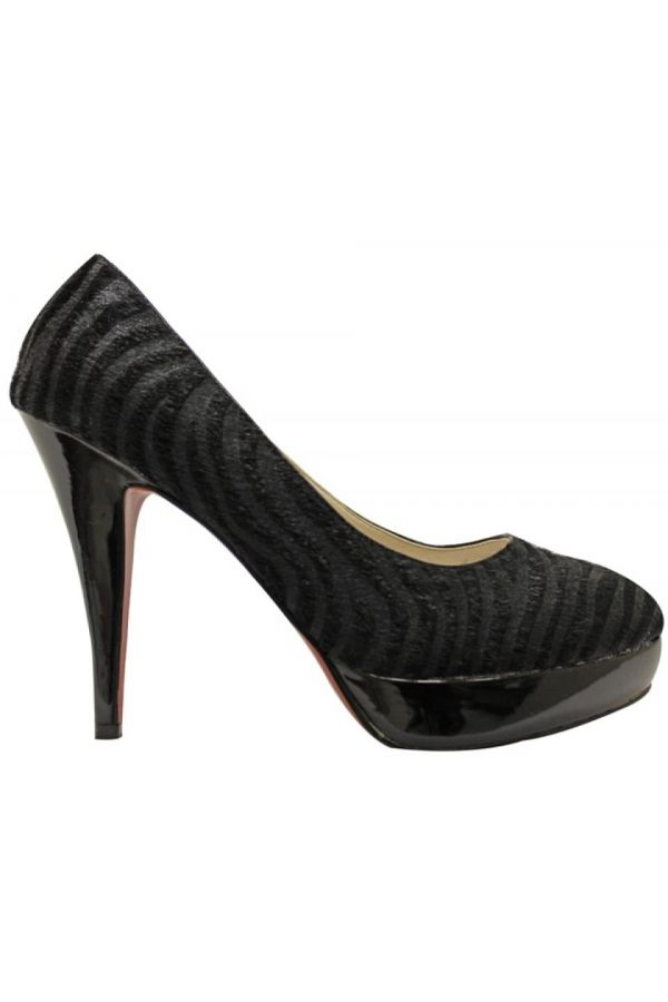 3368H PUMP SUEDE BLACK