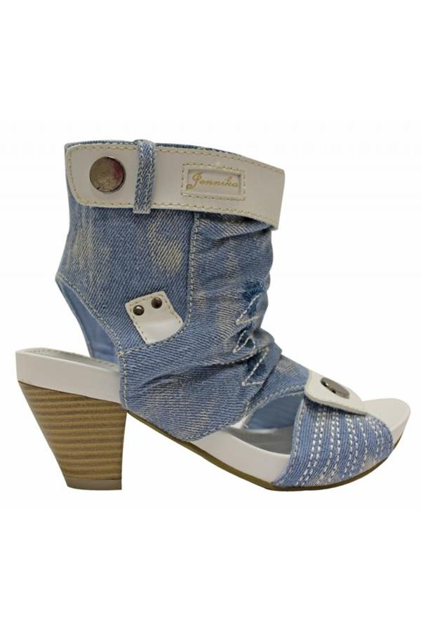7721 SANDAL JEAN LIGHT BLUE