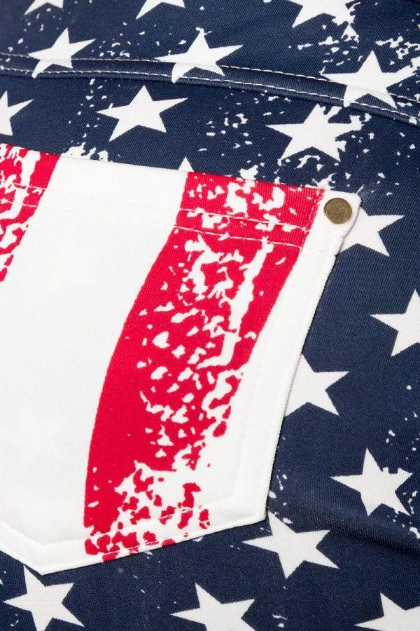 πολύχρωμο σορτς σε σημαία σχέδιο