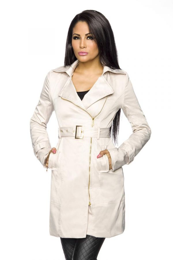 AT1513559 TRENCH COAT BEIGE