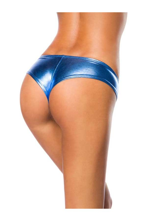 AT1514105 PANTY WET LOOK BLUE