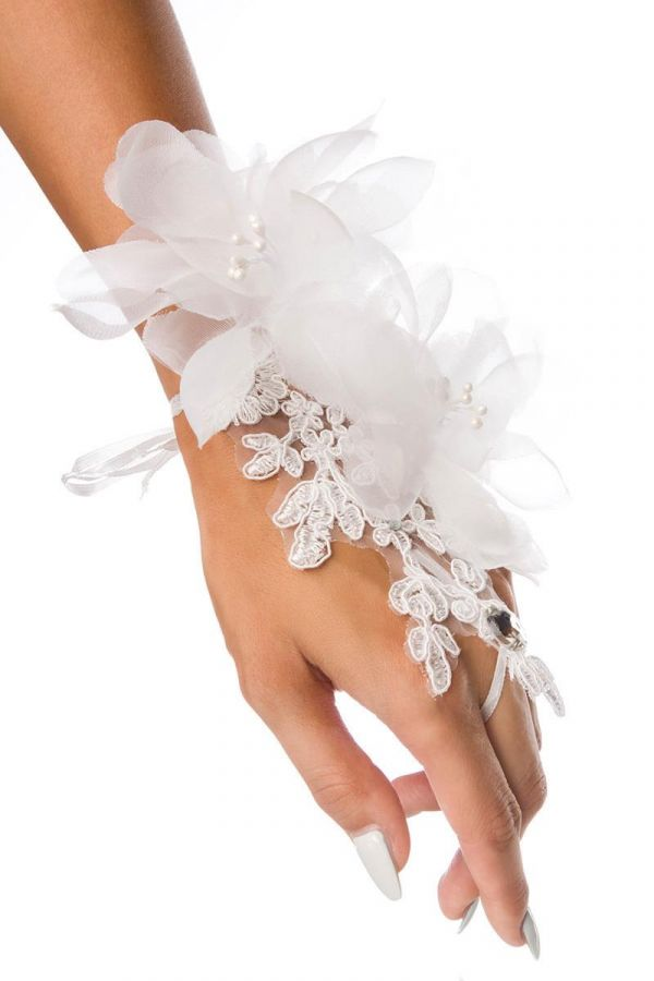 AT1614400 HAND ACCESSORY LACE WHITE