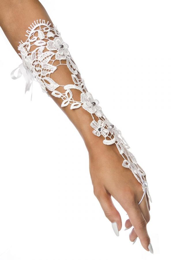 AT1614401 HAND ACCESSORY LACE WHITE