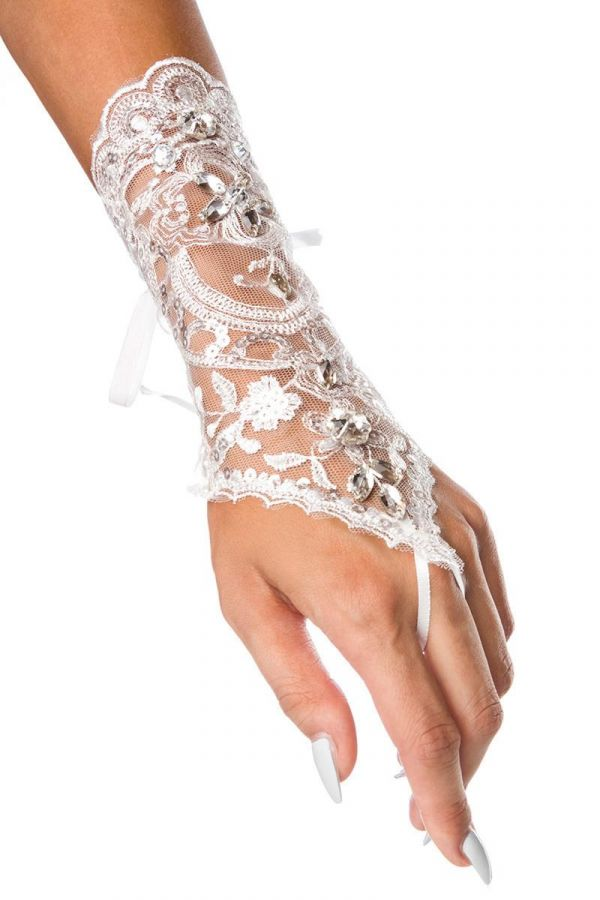 AT1614403 HAND ACCESSORY LACE WHITE