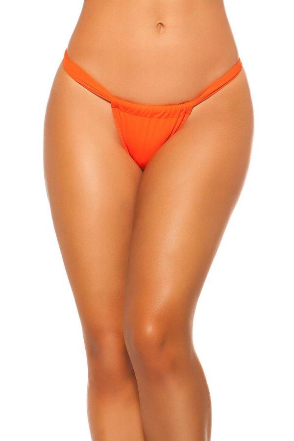 swimsuit bottom slip brazilian orange.
