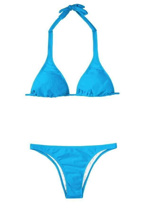 brazilian bikini swimsuit sexy blue.