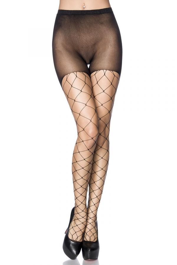 DAT1614069 STOCKINGS NET BLACK