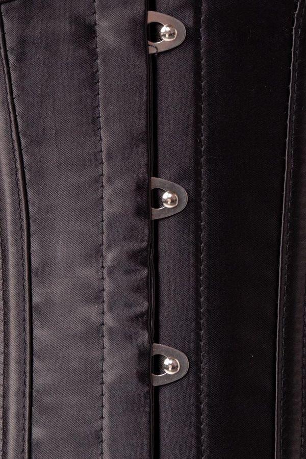 σετ εσώρουχα κορσές σουτιέν σλιπ καλτσοδέτες μαύρα.
