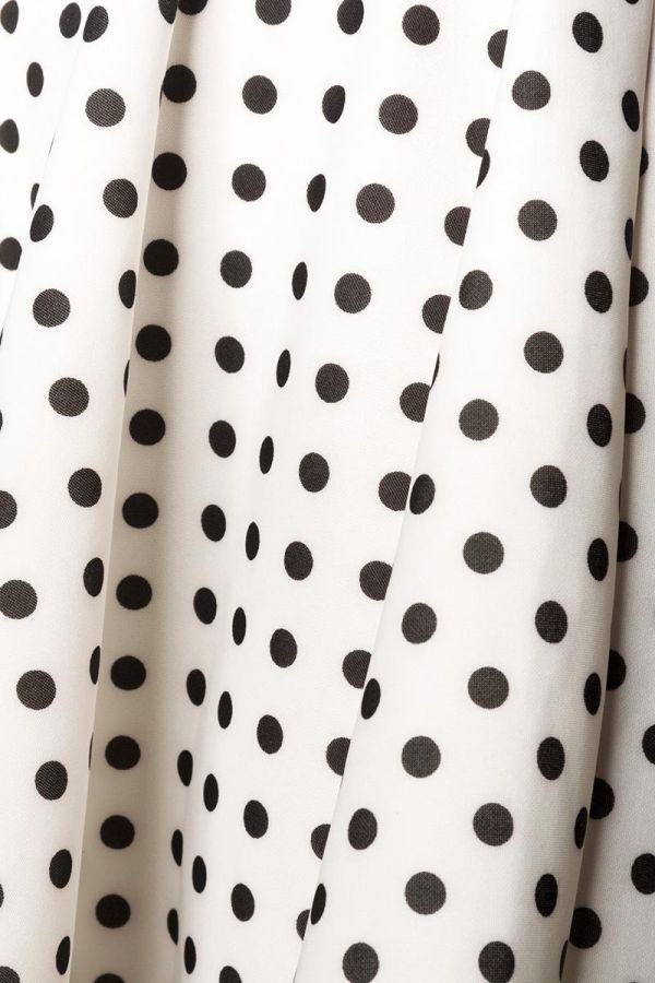 φόρεμα αμάνικο ασύμμετρο λαιμόκοψη άσπρο μαύρο.