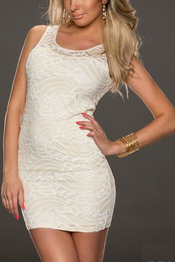 DRESS SHORT BEIGE Q2017454