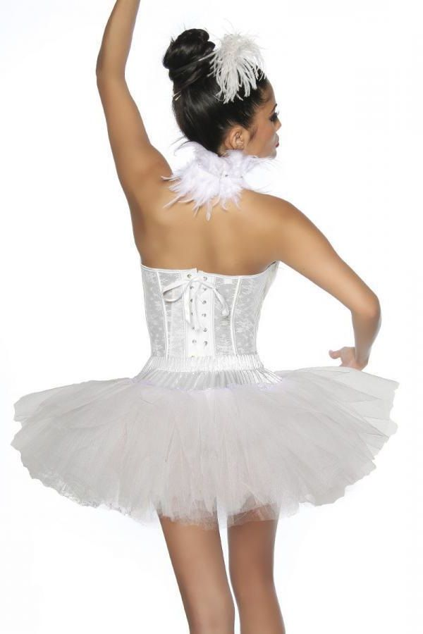 SKIRT TUTU SHORT TULLE WHITE DAT2013173