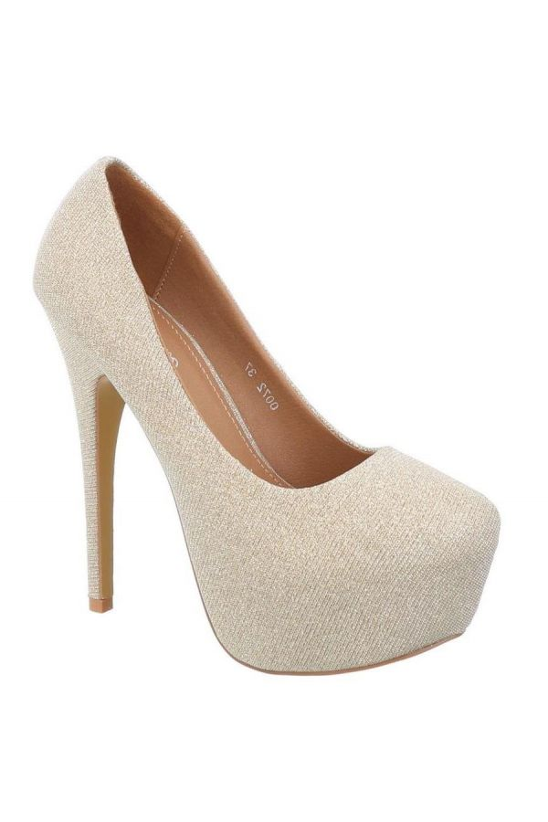 FSW007211 PUMP SATIN GOLD