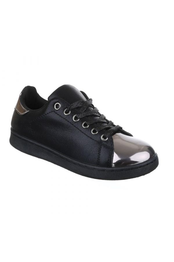 FSW1011 SNEAKER METALLIC DECORATION BLACK