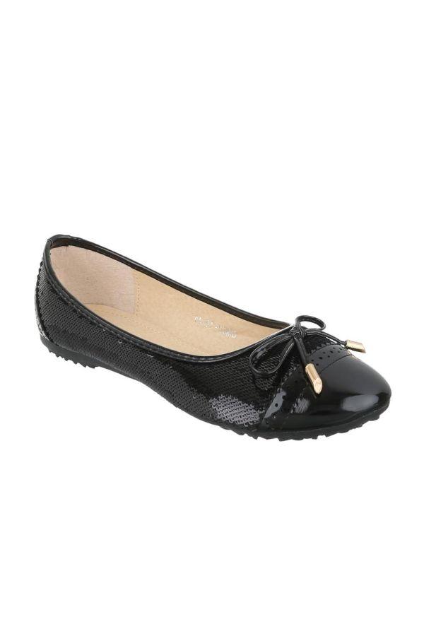 FSW6D163 BALLERINA SHOE BLACK