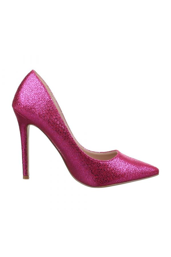 FSW91102 PUMP POINTED FORMAL FUCHSIA