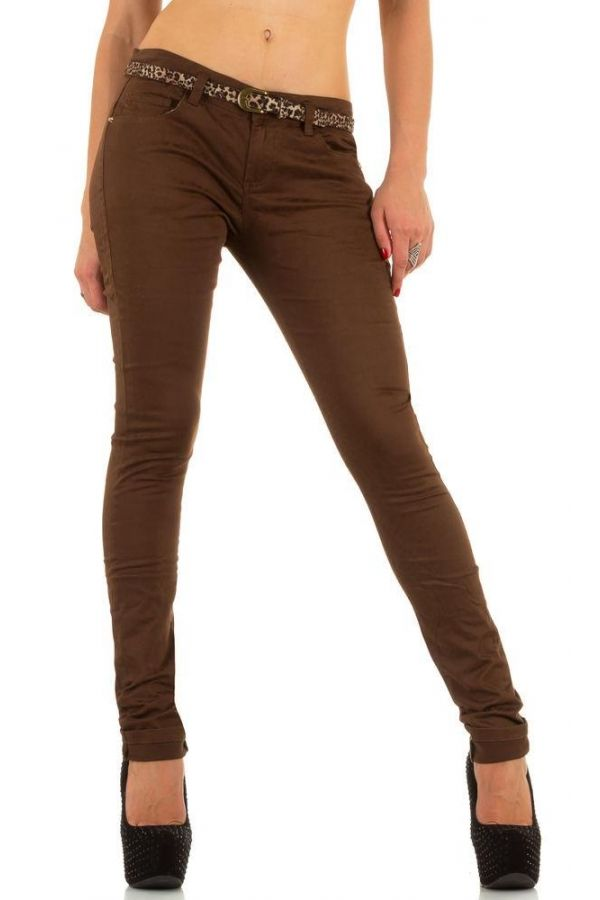 FSWJA12810 PANTS SPORT BROWN