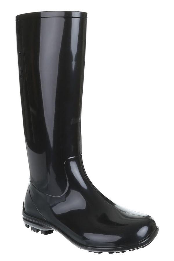 WELLIES RAIN BOOTS BLACK SW100P16