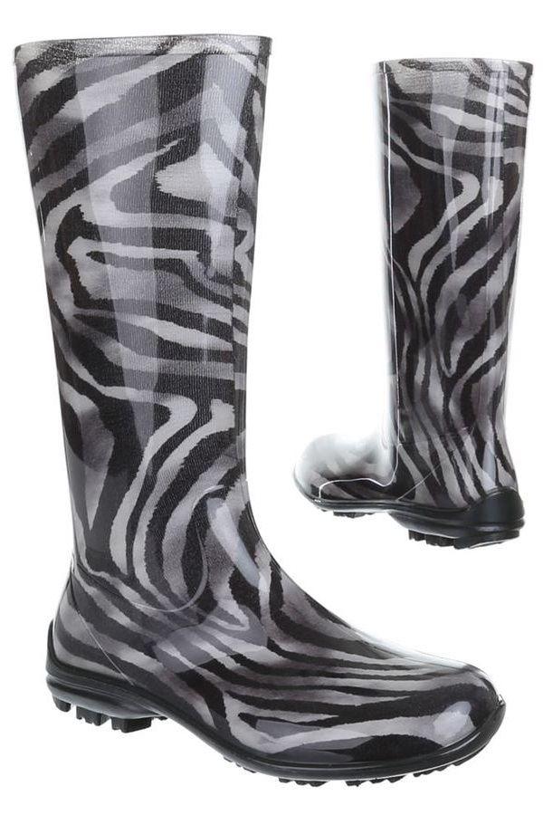 WELLIES RAIN BOOTS ZEBRA SW100P1