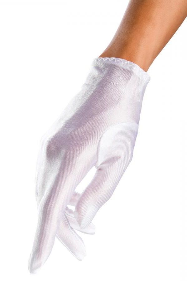 GLOVES SHORT SATIN WHITE DAT1912714