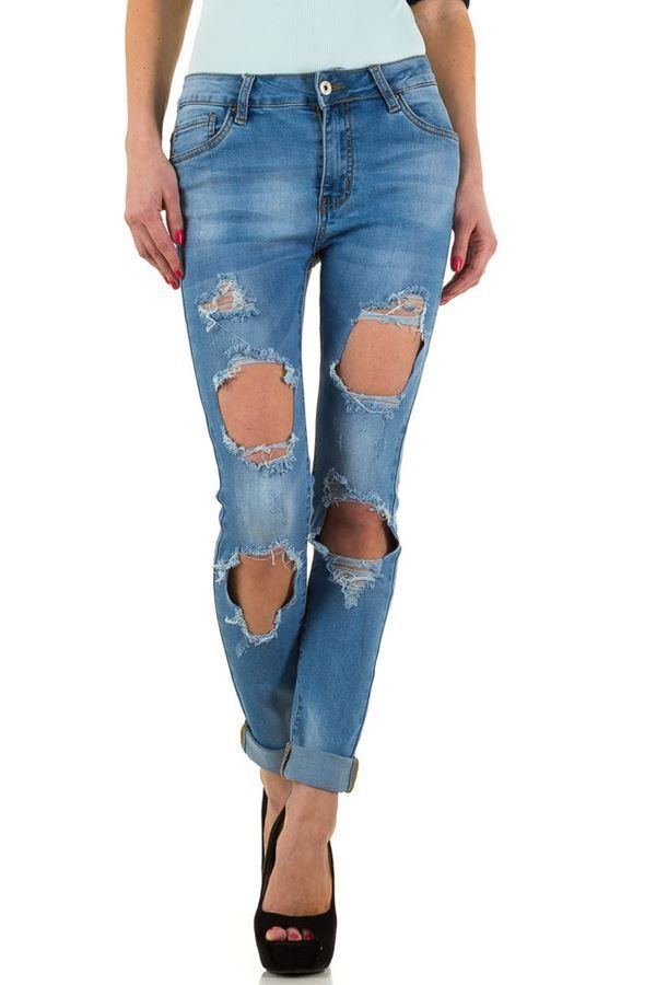 FSWS8301 PANTS JEAN BLUE