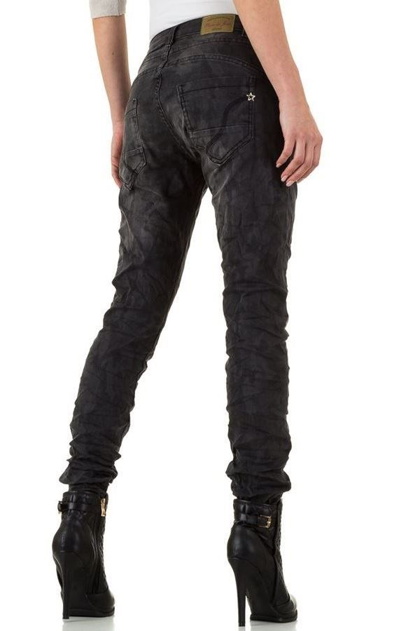 FSW929201 PANTS JEAN DARK GREY