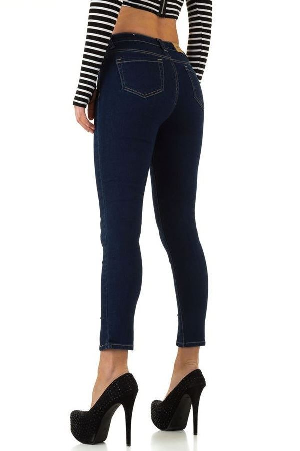 FSWJ29451 PANTS JEAN DARK BLUE