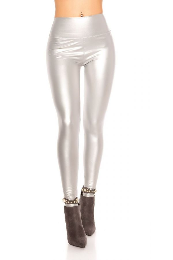 SILVER LEGGINGS THERMO ISDG204830