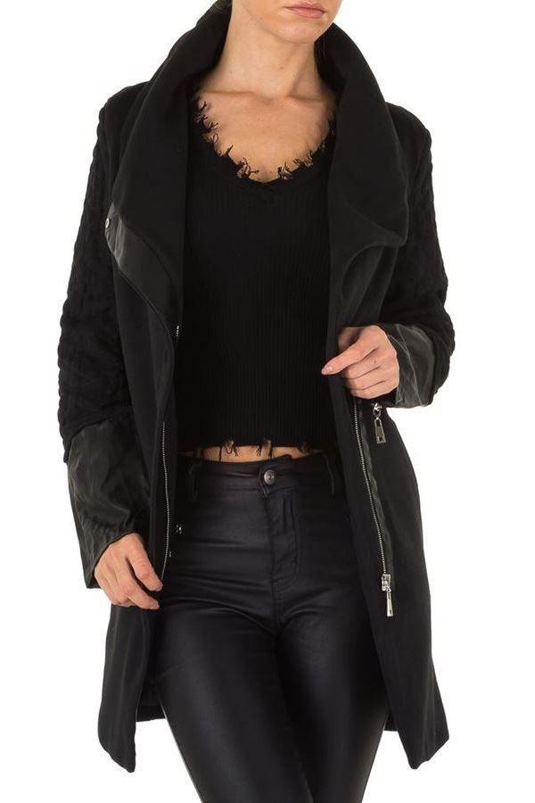SEMI COAT BLACK FSWJ57314
