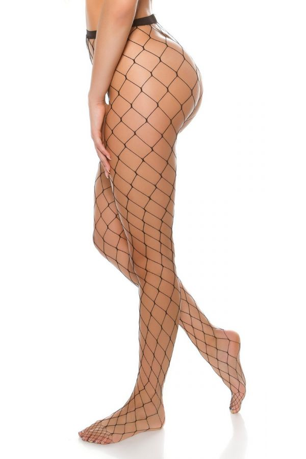 PANTYHOSE NET BLACK ISDH90322
