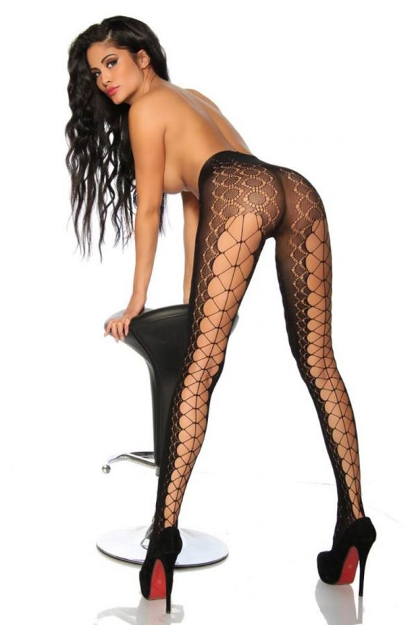 TIGHTS CUTOUTS BLACK DAT1918135