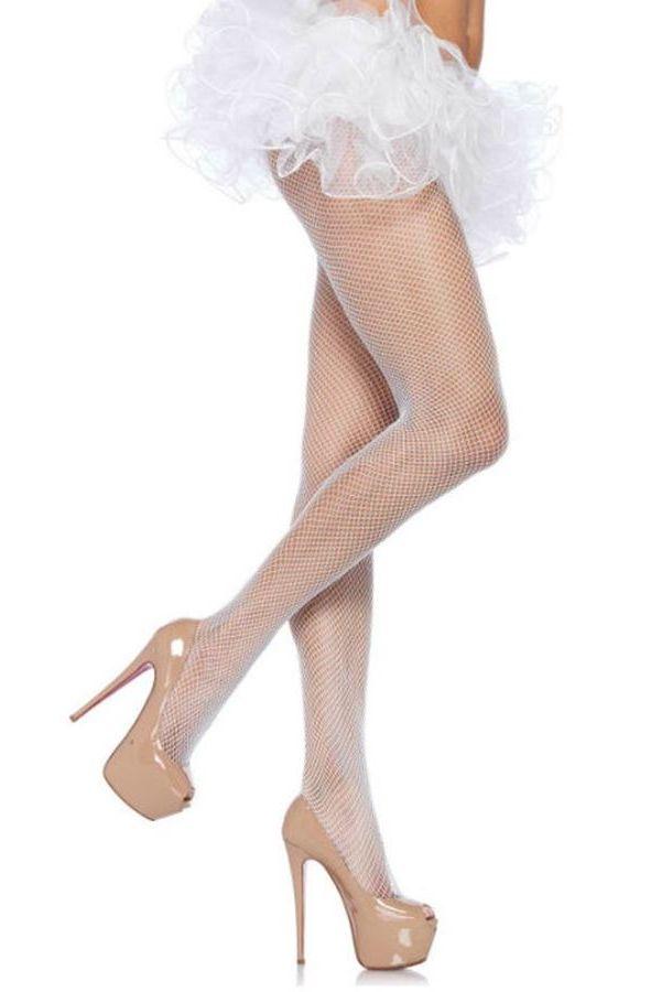 PANTYHOSE LEG AVENUE NET WHITE DRE210568