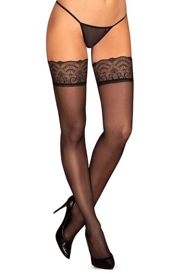 STOCKINGS SEXY LACE BLACK DRED226650