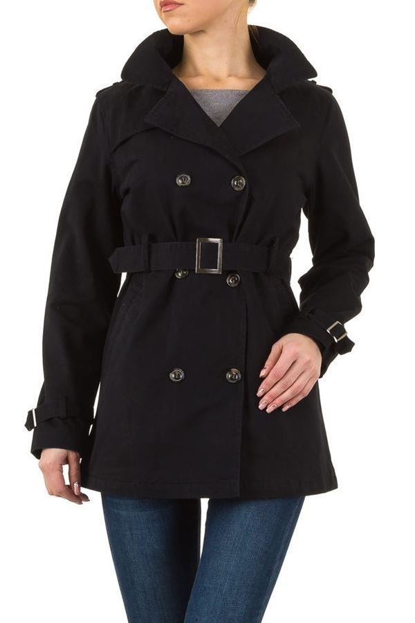 TRENCH COAT BLACK FSWY175F1
