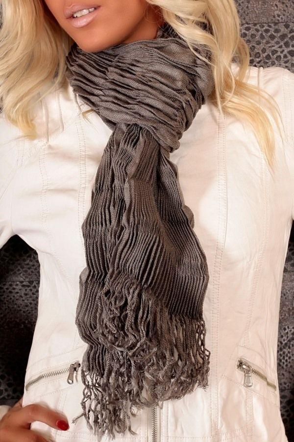 scarf grey.