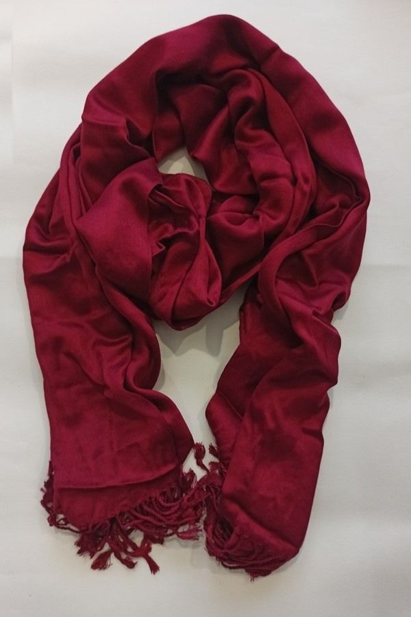 SCARF RED SC0100