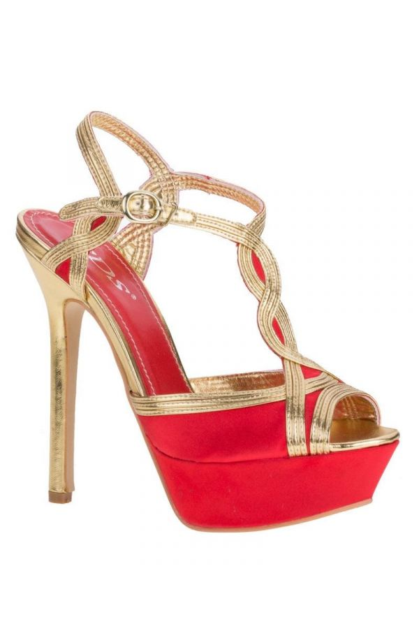 SW6200 SANDAL FORMAL RED