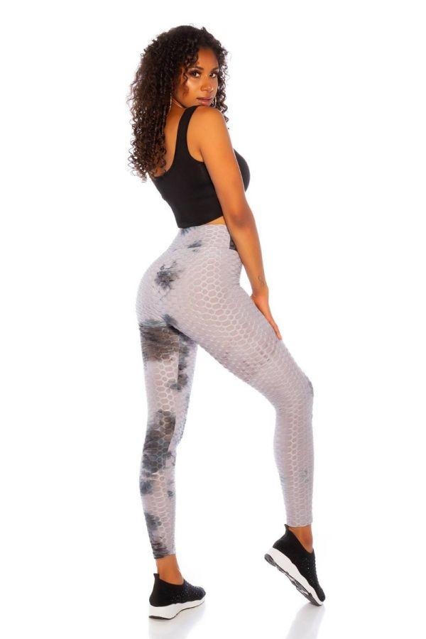 leggings gym prints grey.