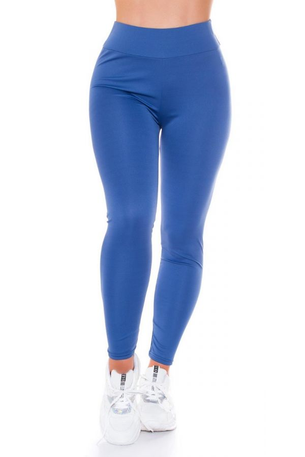 highwaist leggings sexy push up blue.