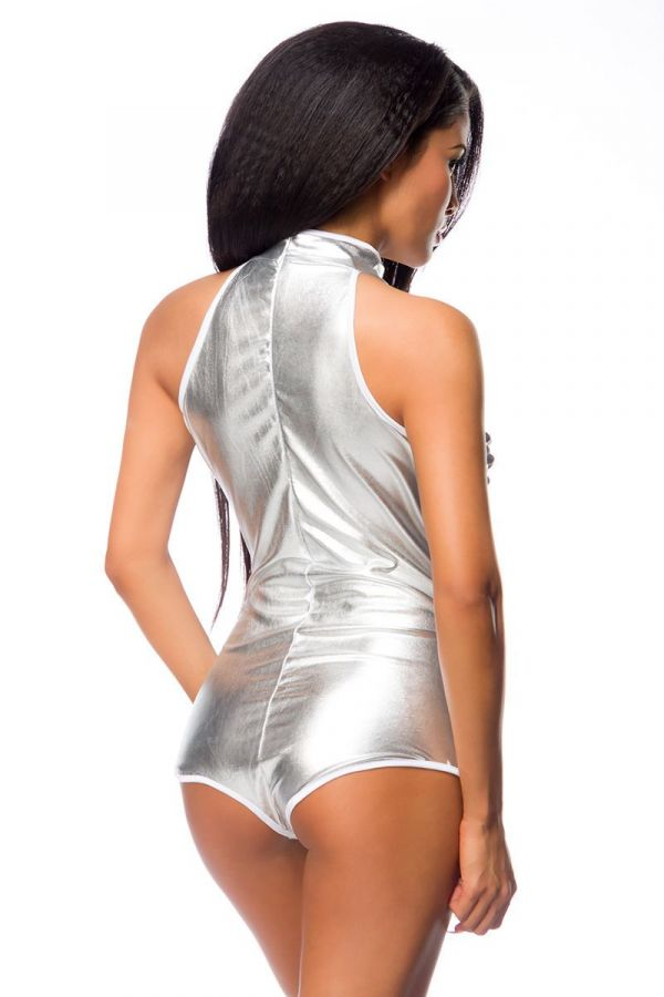 BODY STAR SEXY CUTOUTS SILVER DAT1914064