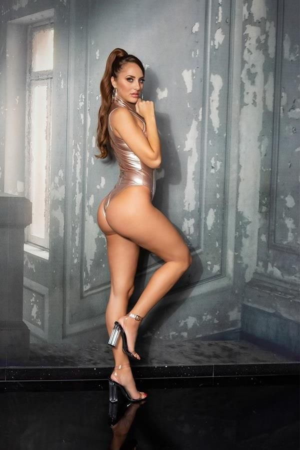 BODY VINYL SEXY SLEEVELESS GOLD ISDB204196