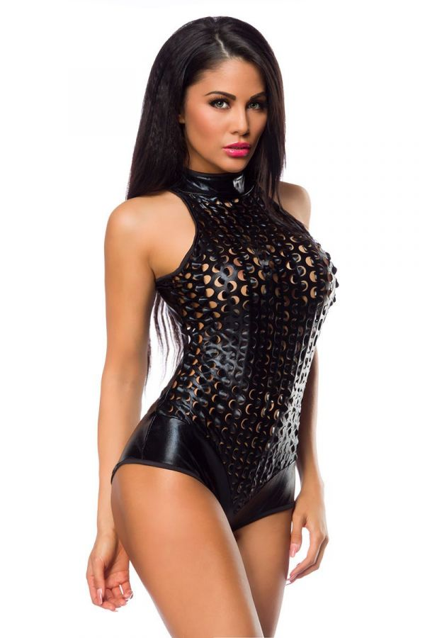 BODY STAR SEXY CUTOUTS BLACK DAT1914064