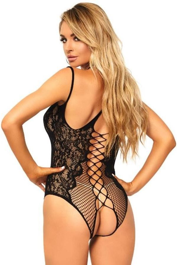 BODY SEXY NET LACE BLACK DRED216487