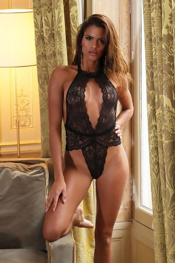 Body String Sexy Lace Black GTOJ1186IN
