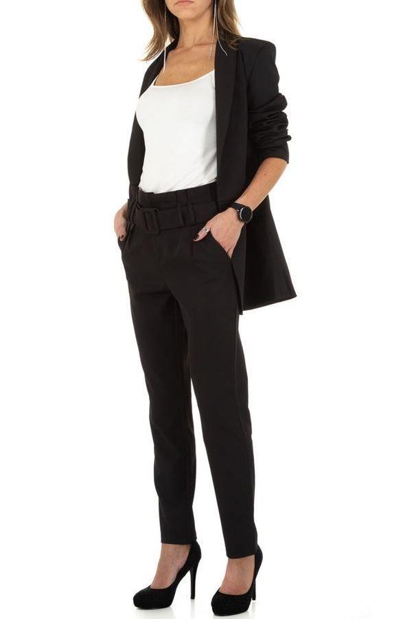 κοστούμι σακάκι παντελόνι μαύρο.