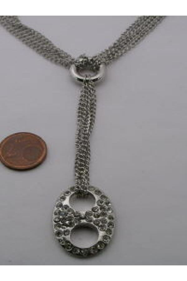 womens impressing collier silver