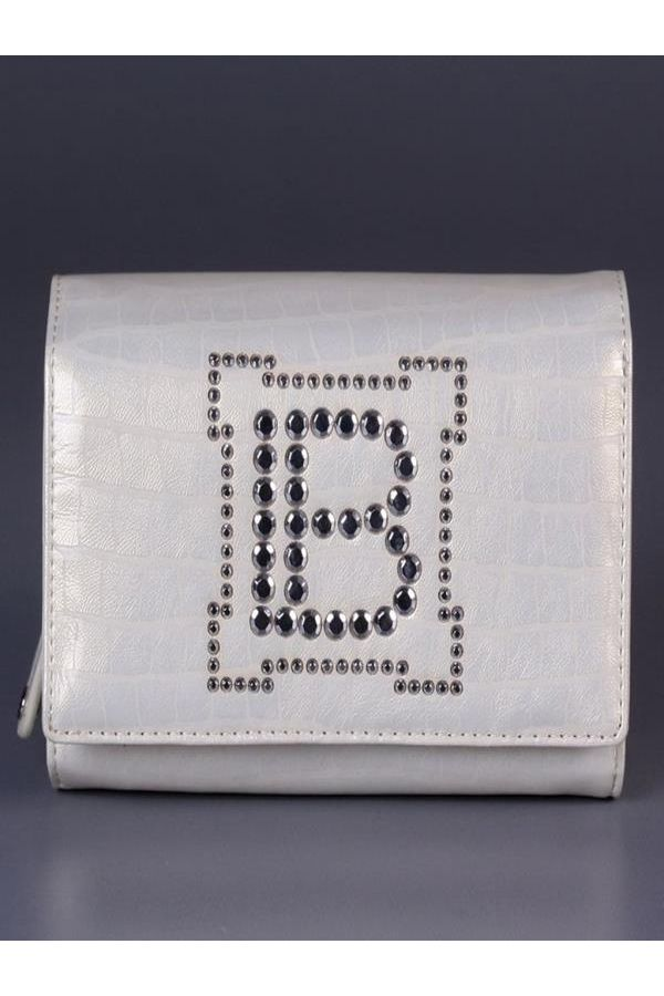 womens wallet laura biagiotti original with cases white