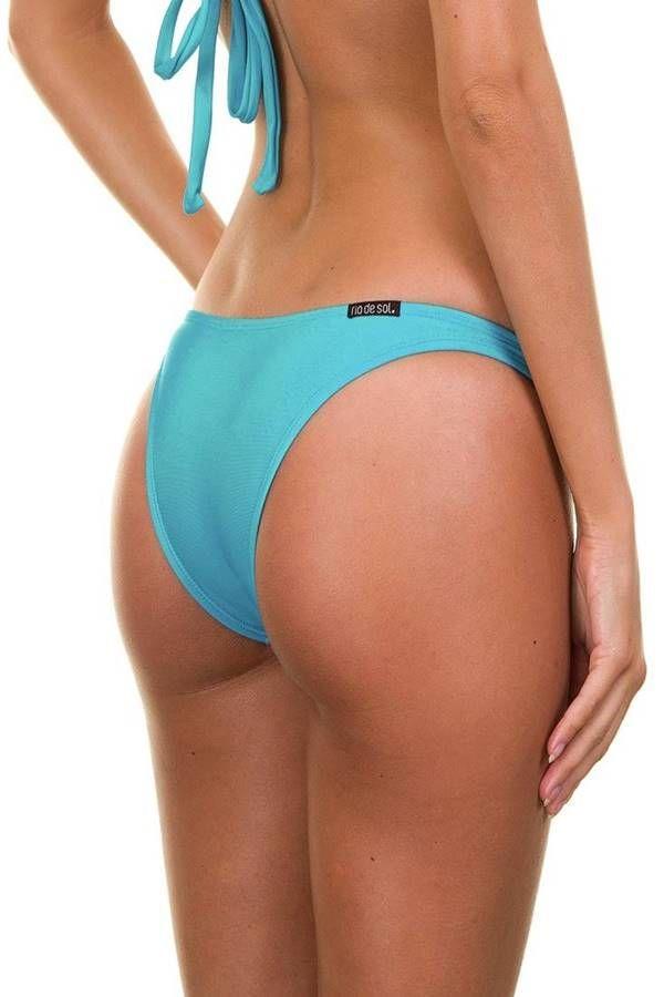 BRAZILIAN SWIMSUIT SLIP BRIEF BLUE BR2181093692