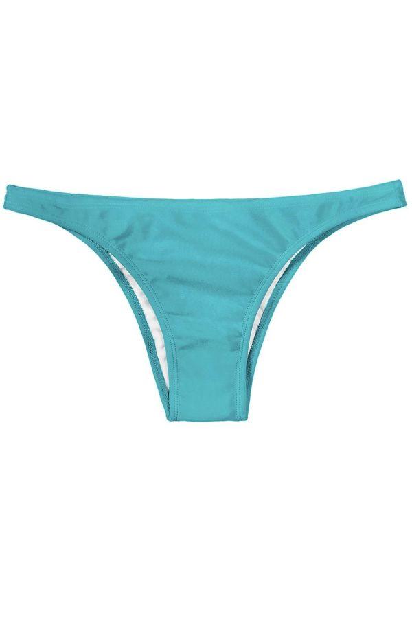 brazilian swimsuit slip brief blue.