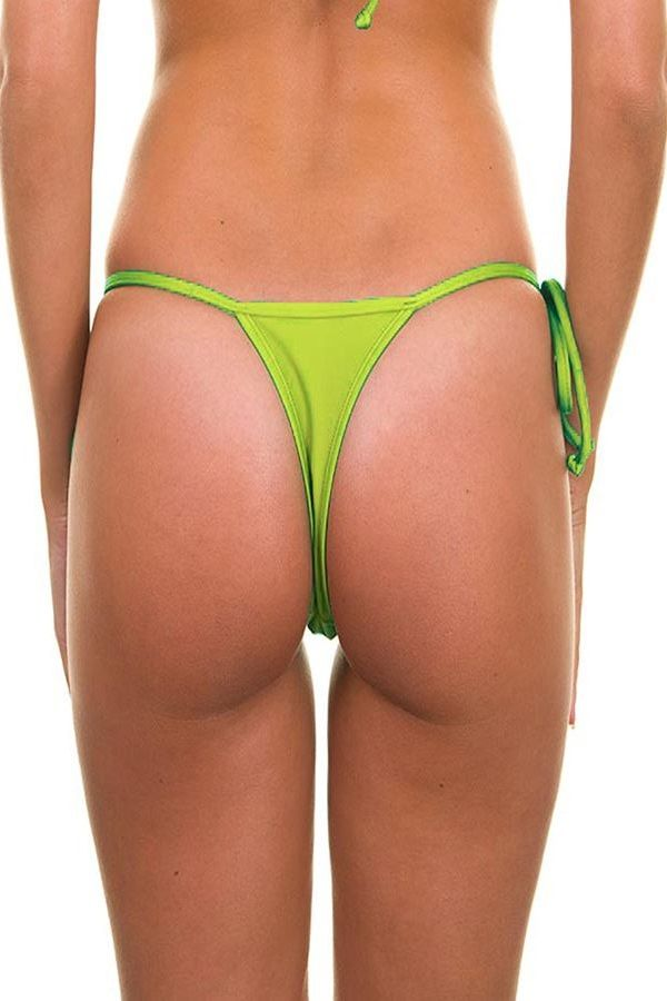SWIMWEAR MICRO STRING BOTTOM GREEN BR19810935962